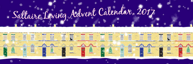 Saltaire Living Advent Calendar, 2017