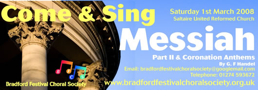 Come and Sing the Messiah
