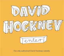 David Hockney website