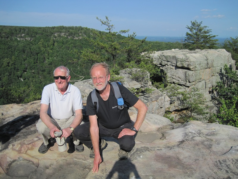 David King and Dave Shaw on Buzzard  Point