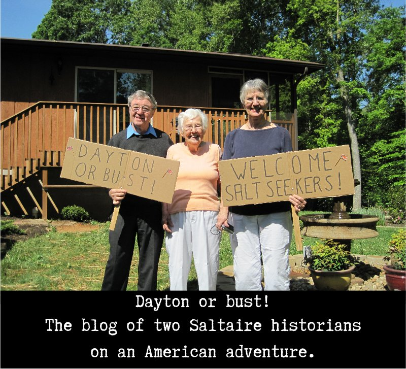 Dayton or Bust! The blog of 2 Saltaire Historians on an American adventure
