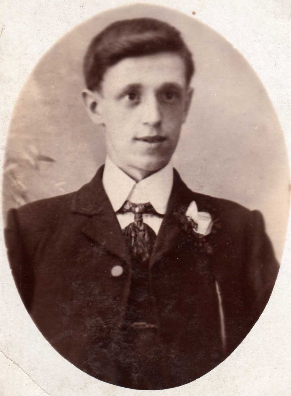 David Middleton, aged about 20