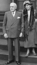Mr. & Mrs. R. W. Gould, Centenary Thanksgiving for Salts Mill, 1953.