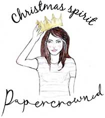 Christmas Spirit with Papercrowned