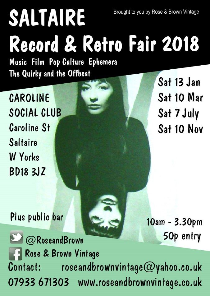 Rose & Brown, Record and Retro Fair 2018