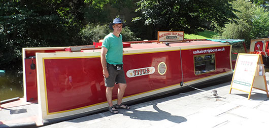 Saltaire Trip Boat