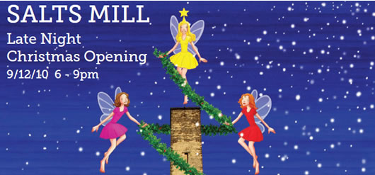 Salts Mill Late Night Christmas Opening, 9 December