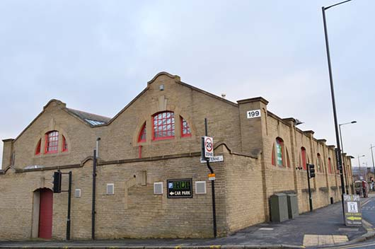 Former Tramshed, Saltaire