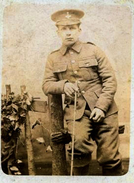 Fred Halliday of Saltaire, WW1