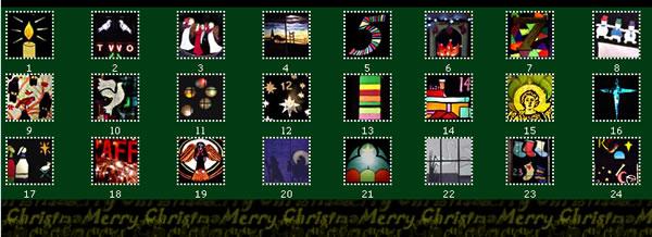 Living Advent Calendar Ideas : Saltaire world heritage site
